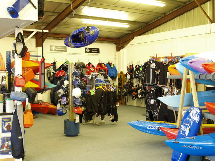 Kayak clothing and accessories