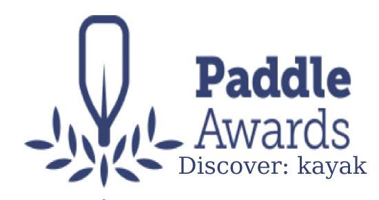 Paddle Award Discover: Kayak