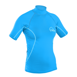 Palm Rash Guard Women's Short Sleeve